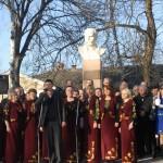 Бігун В.В. виконує пісню про Шевченка