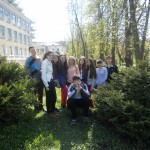 Група моїх десятикласників (Іванко не хоче фотографуватися)