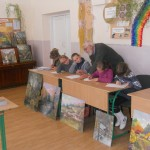 Діти стараються добре виконати завдання