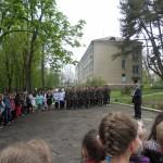 Лінійка після евакуації 25.04.2014р.