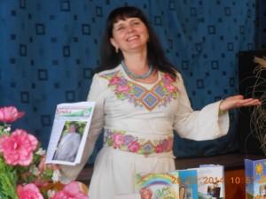 Марія Баліцька читає свої твори