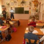 На розмові з учнями 4 класу