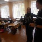 Перша учителька (Лавринів Л.В.) запрошує свого учня приходити ще до школи