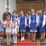 Привітання біля православної церкви Струсова