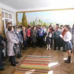 Під час екскурсії у кімнаті-музеї народознавства