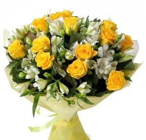 Дарую в цих квітах тепле сонце