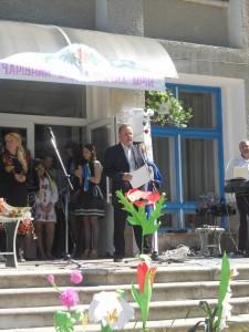 Волонтер Морозович Б.Л. з подякою від волонтерів Теребовлянської вежі
