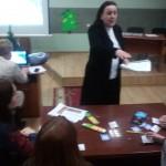 Анна Йосипівна проводить майстер-клас
