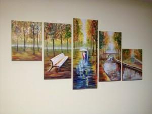Наша модульна картина - перша модульна картина Наталі Павлівни